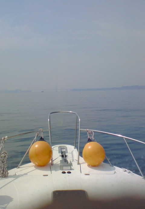 鳴門海峡へ